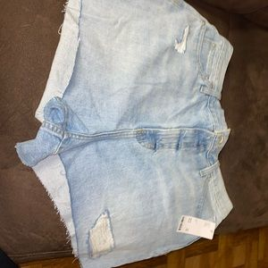 UO BDG GIRLFRIEND HIGH RISE SIZE 33 jean shorts